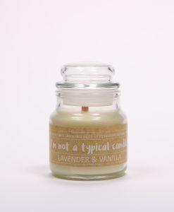 Lavender & Vanilla Eco Candle