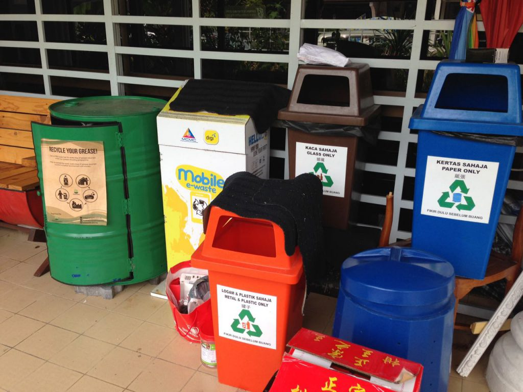 Recycle Area
