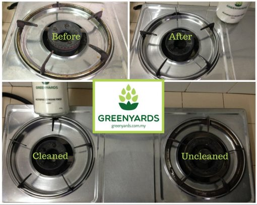 Cleaning Demonstrations (Gas Stove)