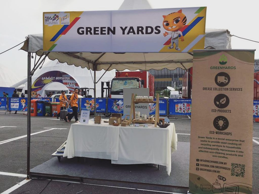 Green Yards booth at SEA Games Carnival
